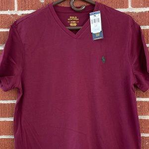 NWT Men's Polo Ralph Lauren Vneck T-shirt Medium